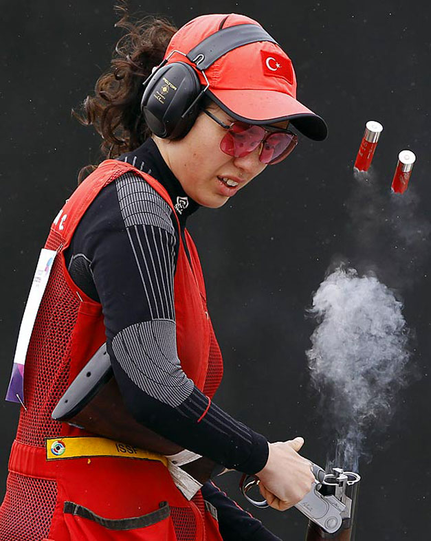 Турецкий стрелок Сигдем Озяман (Cigdem Ozyaman)