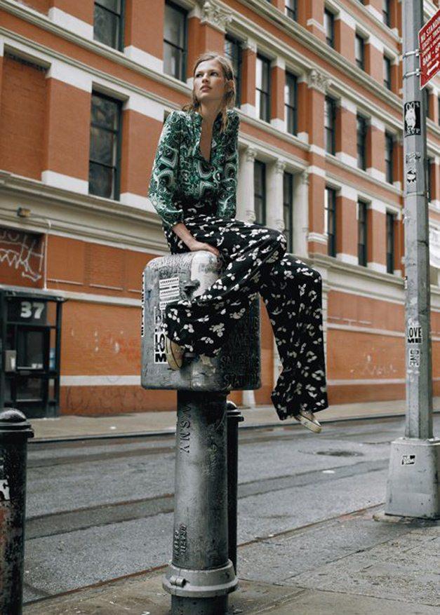 модель Бетт Франке / Bette Franke, фотограф Amy Troos
