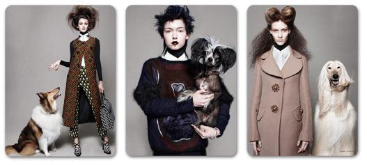 Best In Show - фотограф Daniel Jackson в журнале Vogue UK, август 2012