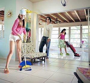 Чистота и порядок в вашем коттедже