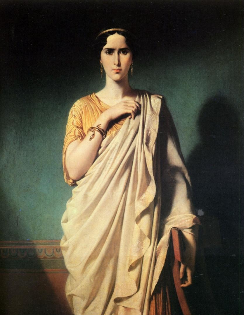 Мадам Р. НУ Рэйчел данс ле роль де Камилла, исп 1850, Комеди Франсез, Париж, Франция.
