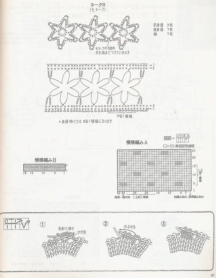 钩织结合——短袖 - slzhaoln - 织春草的博客