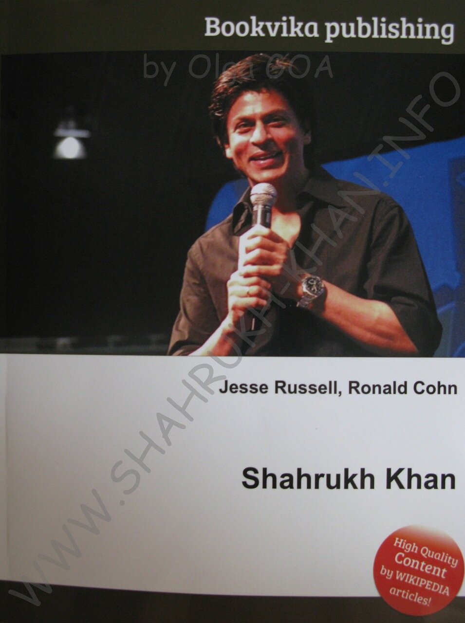 Shahrukh Khan - Book Cover 2012 (2)
