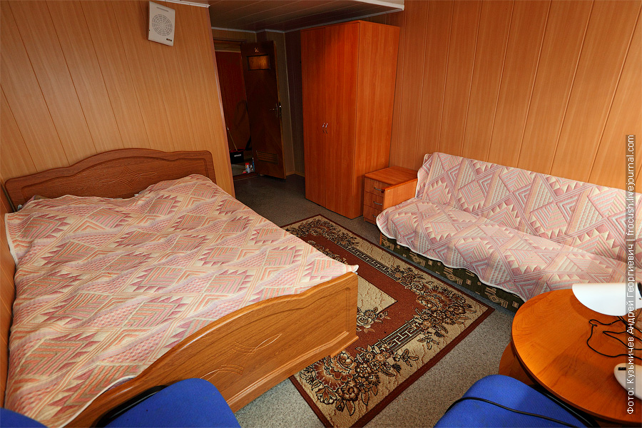 Полулюкс №91 на главной палубе теплохода. теплоход Г.В.Плеханов