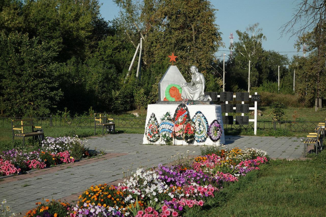 ВОВ в селе Горлово