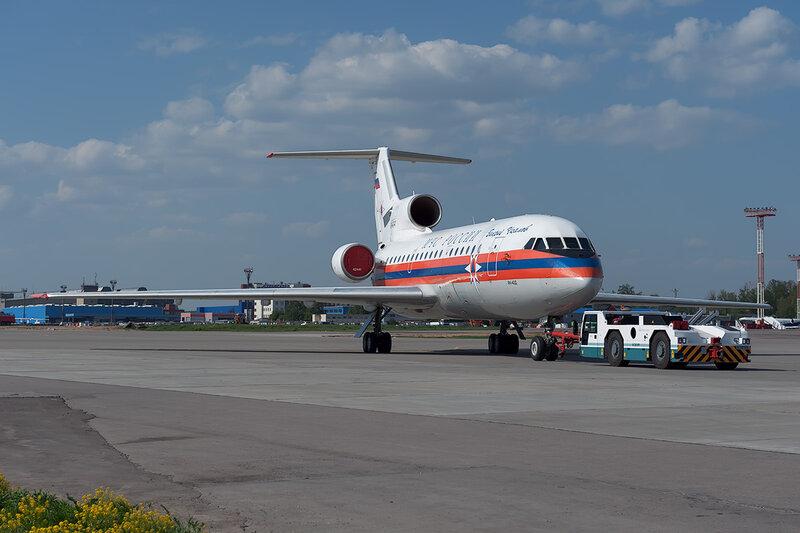 Яковлев Як-42Д (RA-42441) МЧС DSC_0132