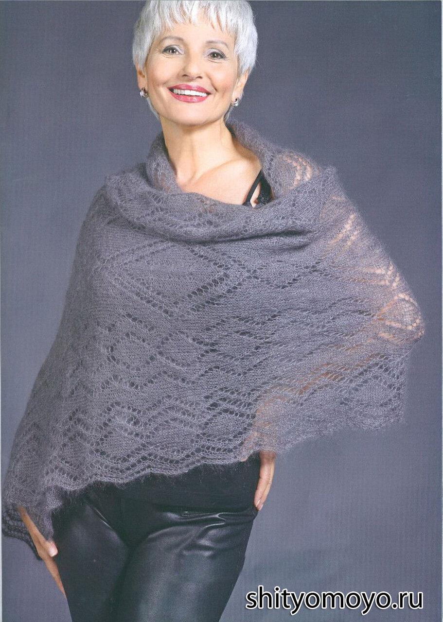 » Схемы вязания бесплатно шали и палантины