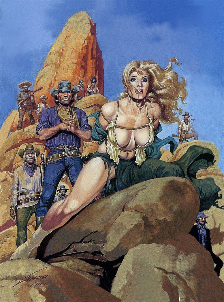 Горячие женщины - Рисунки художника Рафаэля Галлура / Rafael Gallur pictures - Women of the Sheriff