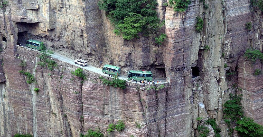 CHINA HENAN GUOLIANG TUNNEL THROUGH MOUNTAIN