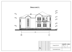 Проект солидного дома.
