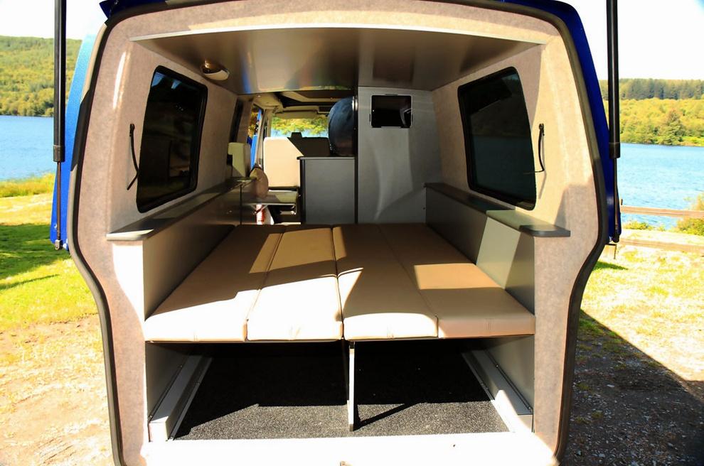 Дом на колёсах-VW Transporter T5 Doubleback