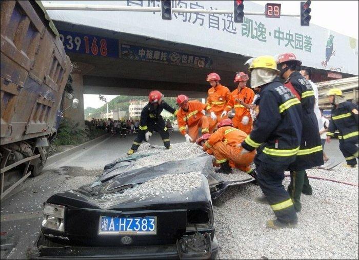 Авария на шоссе ... о_О
