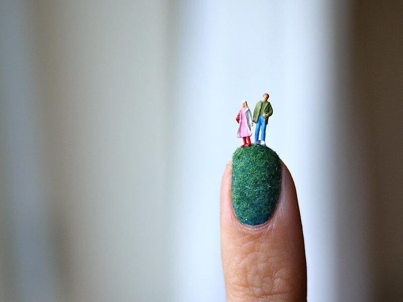 Креативный ногтевой дизайн Кейли О'Коннор (Kayleigh O'Connor) и Элис Бартлетт (Alice Bartlett) / 43 фото