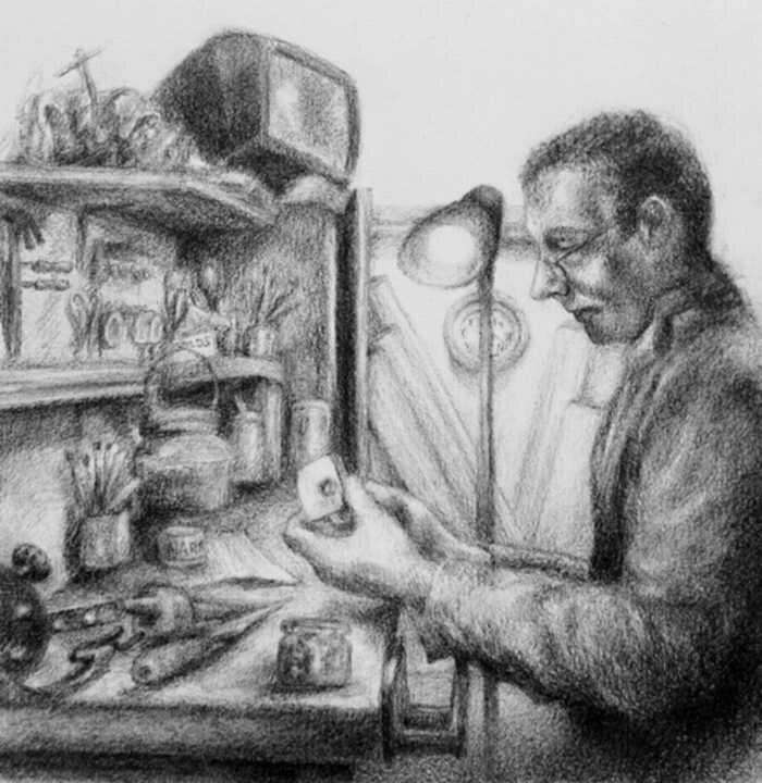 Реалистичные рисунки карандашом Kristy Griggs 7