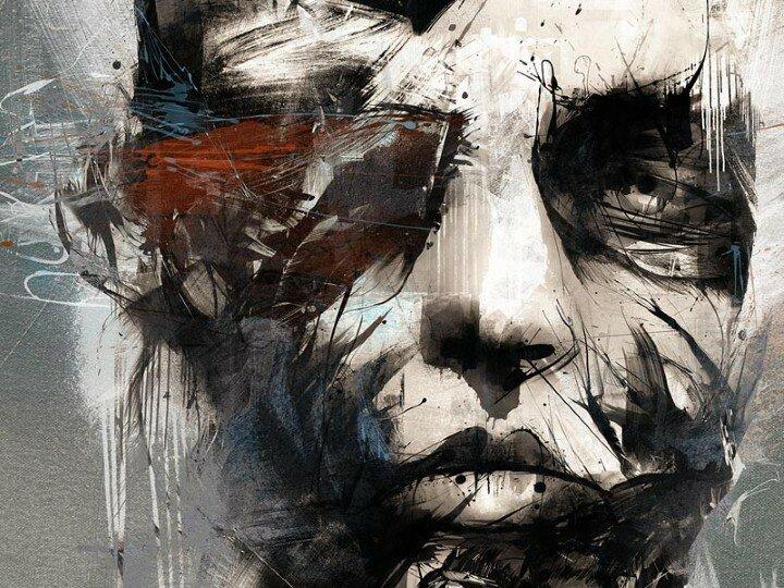 Эмоциональные рисунки. Russ Mills 3