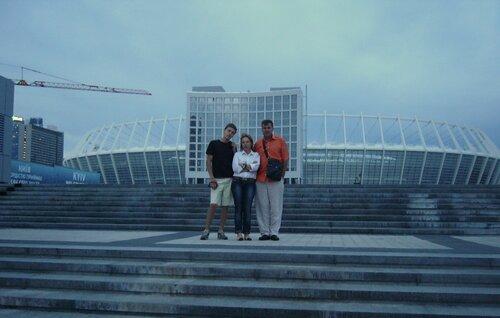 Национальный стадион в Киеве