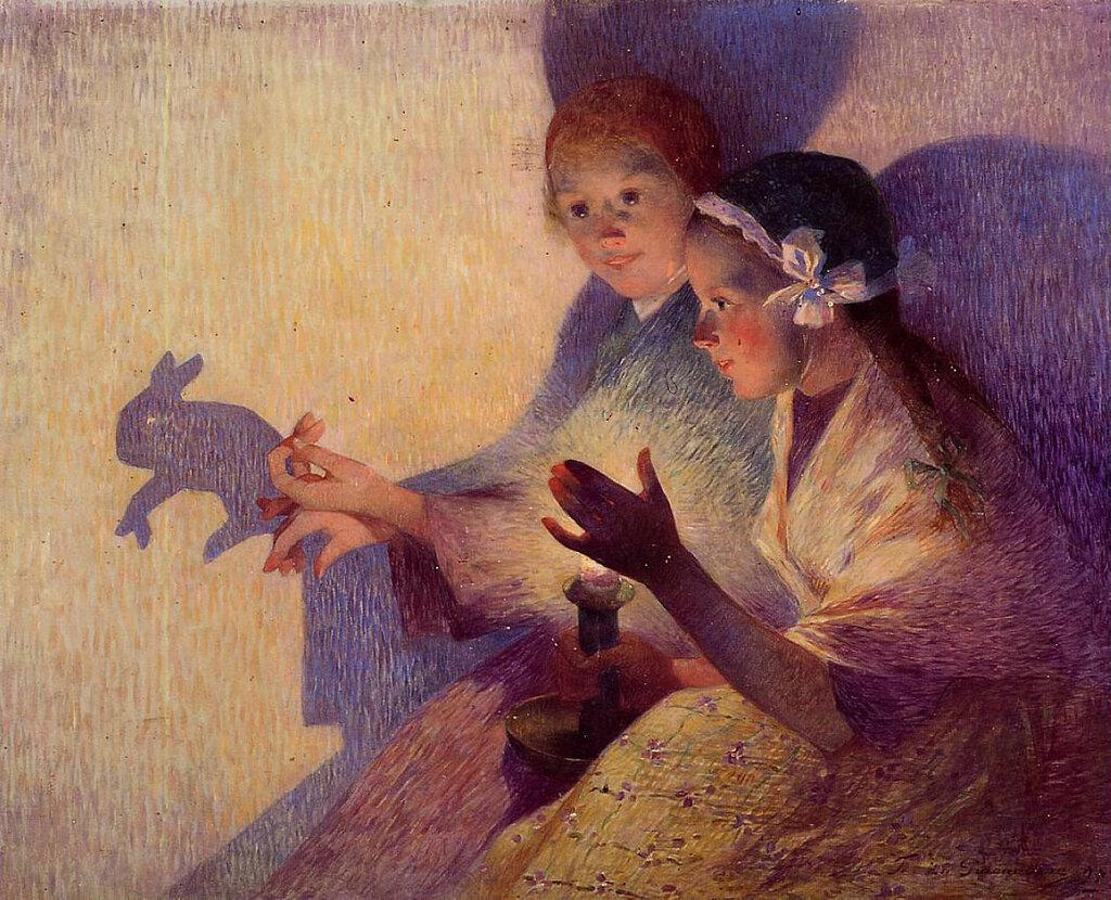 Ferdinand du Puigaudeau - Chinese Shadows, the Rabbit, 1895.jpeg