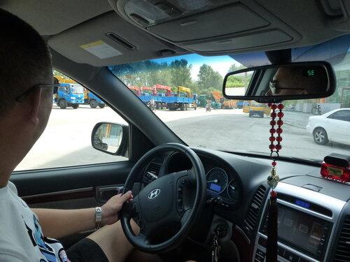 Hyundai китайского производства в Хэйхэ
