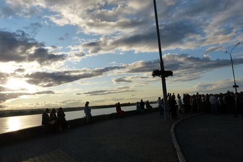город на берегу Томи