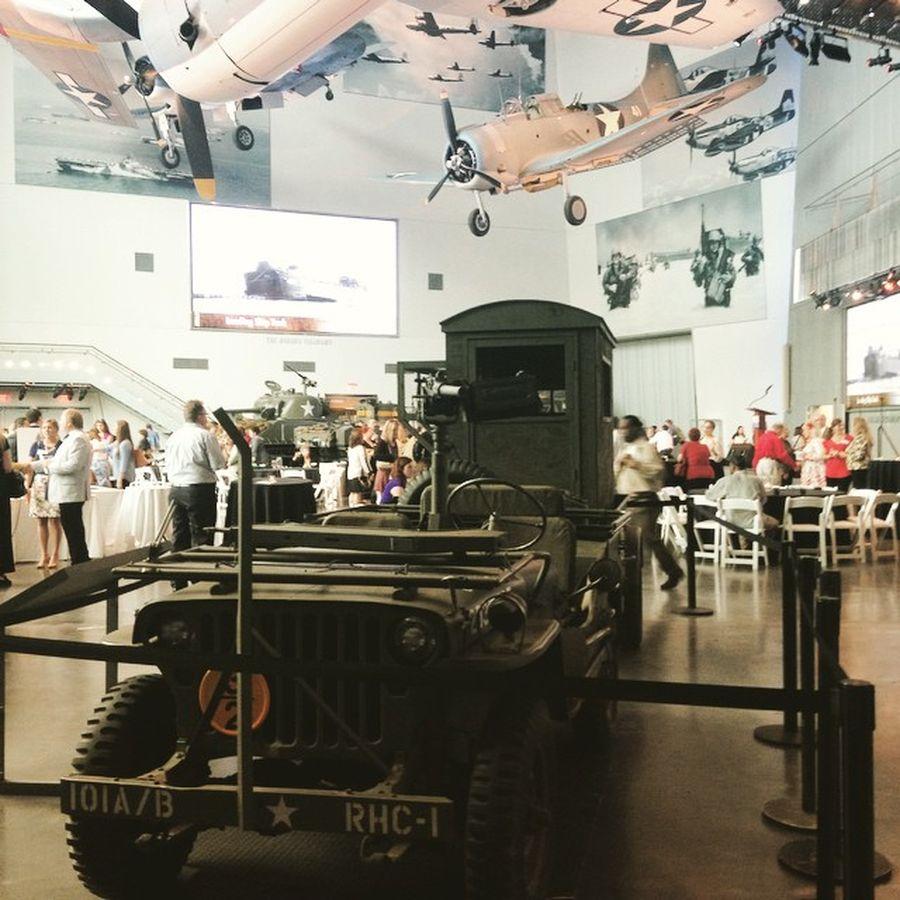 15. Национальный музей Второй мировой войны (Новый Орлеан, США) Открытие музея было приурочено к 56-