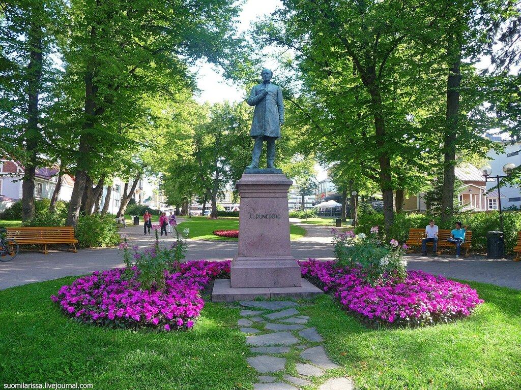 Памятник Рунебергу.