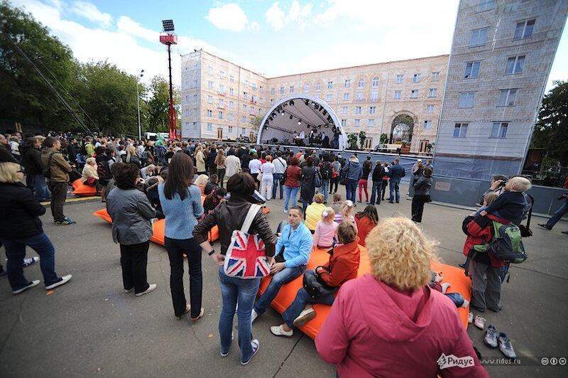 День города в парке Горького, Москва, 01 сентября 2012 года