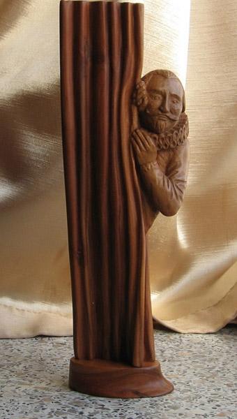 Деревянная скульптура Владимира Цепляева