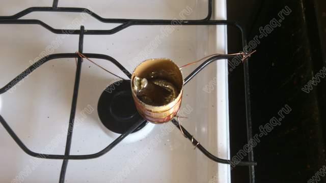 Лужение силового кабеля