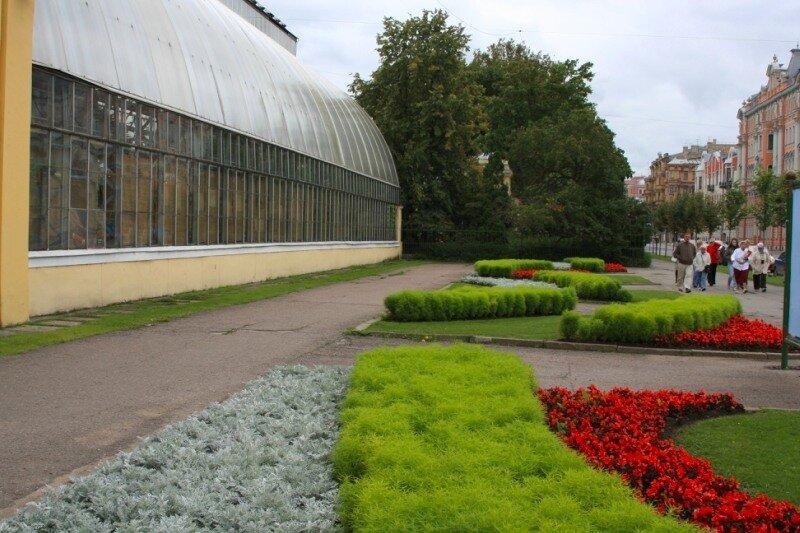 """Павильон """"Цветы"""" на Потемкинской улице"""