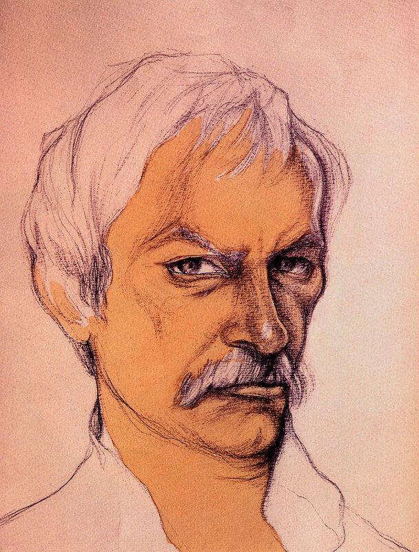 Сергей Шакуров. Рисунок Юрия Богатырева.