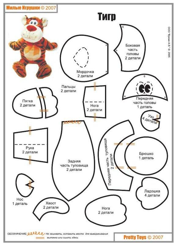 Бетономешалка груКак сшить мягкие игрушки своими руками