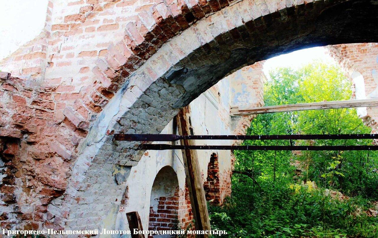 Григориево-Пельшемский Лопотов Богородицкий монастырь, Вологодская область