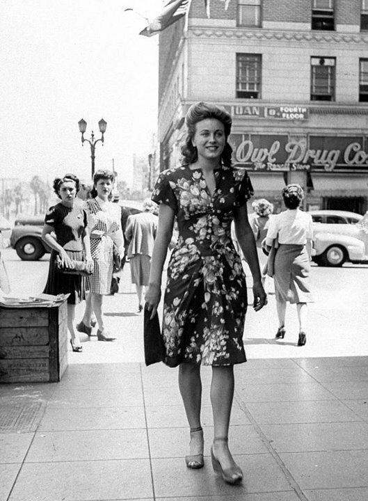 мода 40-х годов в америке фото