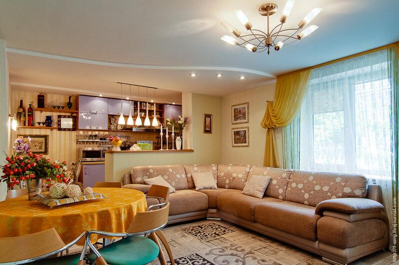 Частный жилой дом (Дизайн интерьера: Сивцева Ирина)