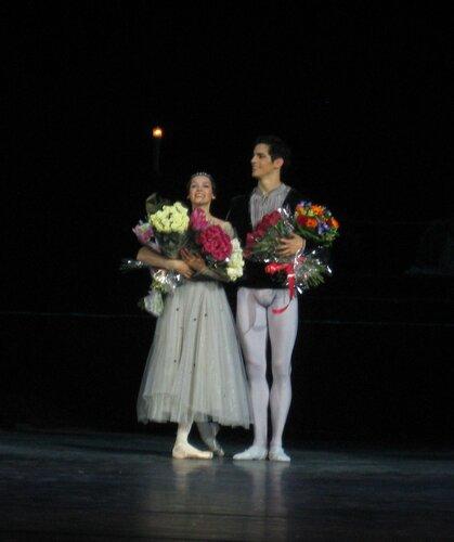 """"""" Ромео и Джульетта"""", балет театра """" Кремлевский балет"""", поклоны, 30.08.2012 г."""
