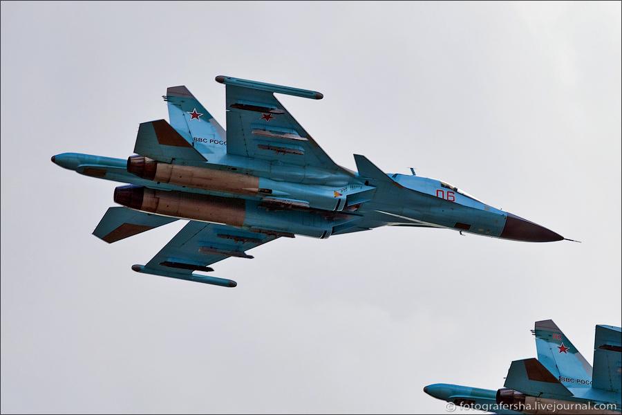 Су-34 на 100-летии ВВС