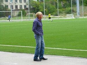 Владимир Владимирович Хорольцев - главный тренер и генеральный директор ФК Салют.