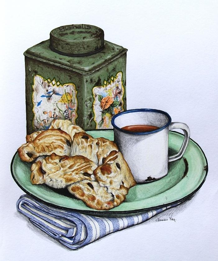 принести картинки для декупажа чашка с чаем григорьев рассказал