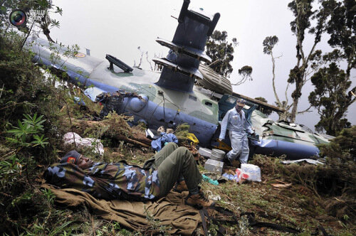 Угандиец угандошил боевой вертолет
