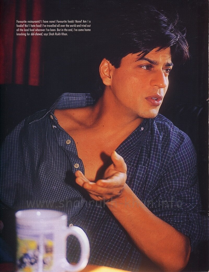 Shah Rukh Khan - Upper Crust - april-june 2002