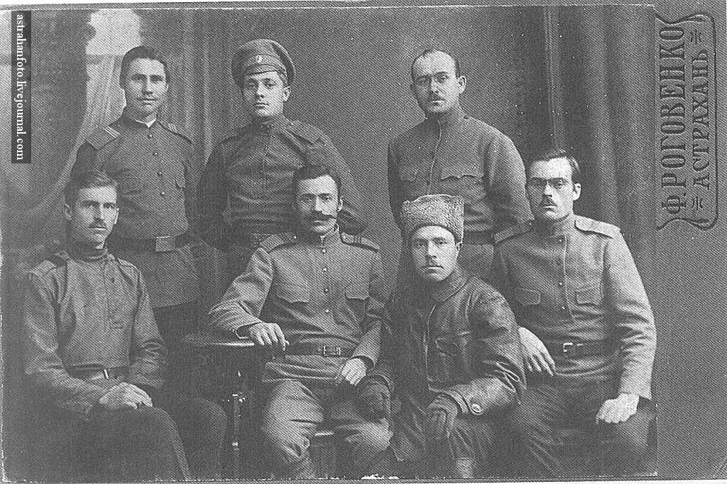 На память о  воинской службе. 1917
