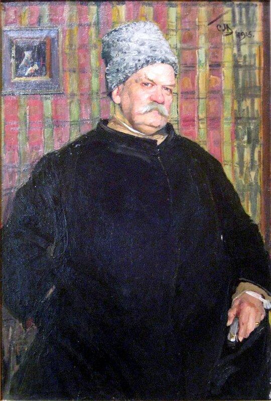 «Король репортёров», 1915 г., Сергей Малютин (Гиляровский, Владимир Алексеевич (1855-1935))