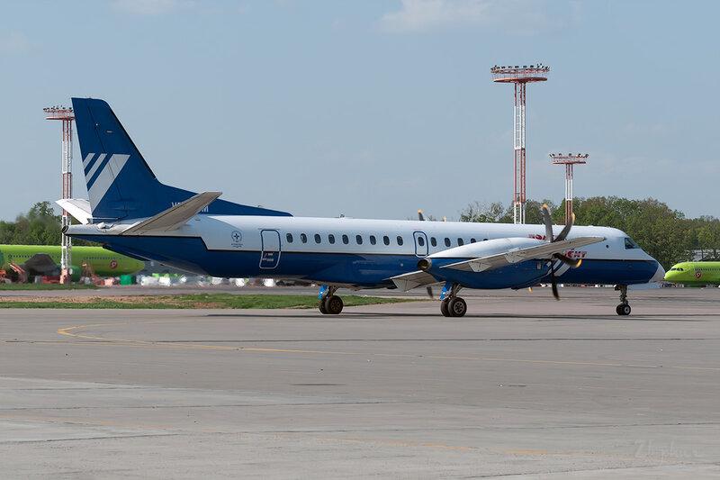 Saab 2000 (VP-BPM) Полет DSC0247