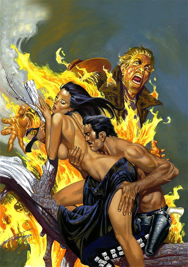 Горячие женщины - Рисунки художника Рафаэля Галлура / Rafael Gallur pictures - The Black Rose