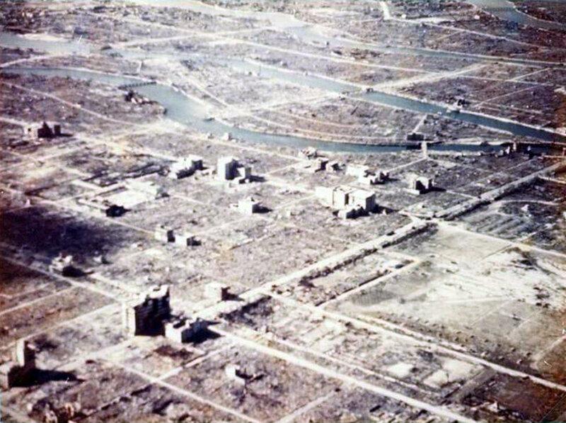 """Хиросима и Нагасаки тогда и сегодня (19 фото) """" SwTeam.info"""