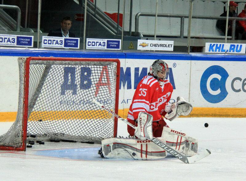 «Спартак» vs «Югра» 5:0 контрольный матч 2012 (Фото)