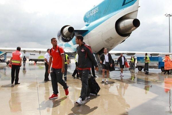 «Спартак» прибыл в Стамбул (Фото)