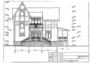Проект дома в скандинавском стиле.