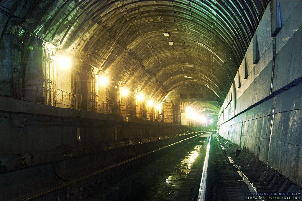 Заброшенные станции метро глазами диггеров. Станция Львовская Брама