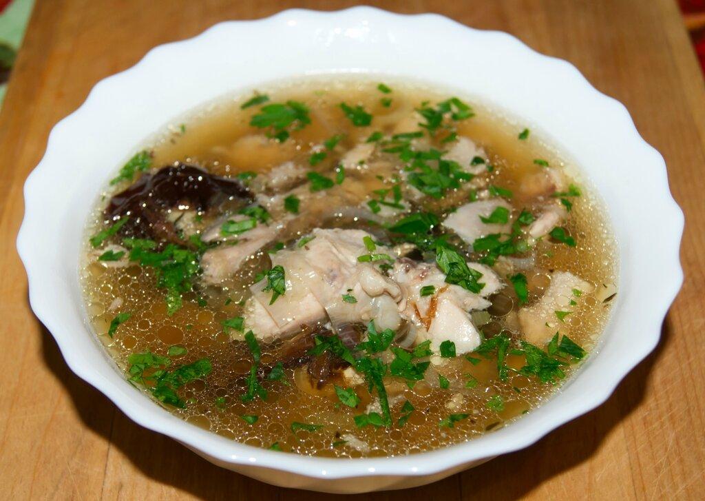 Кок-э-лики (шотландский куриный суп). Британская кухня
